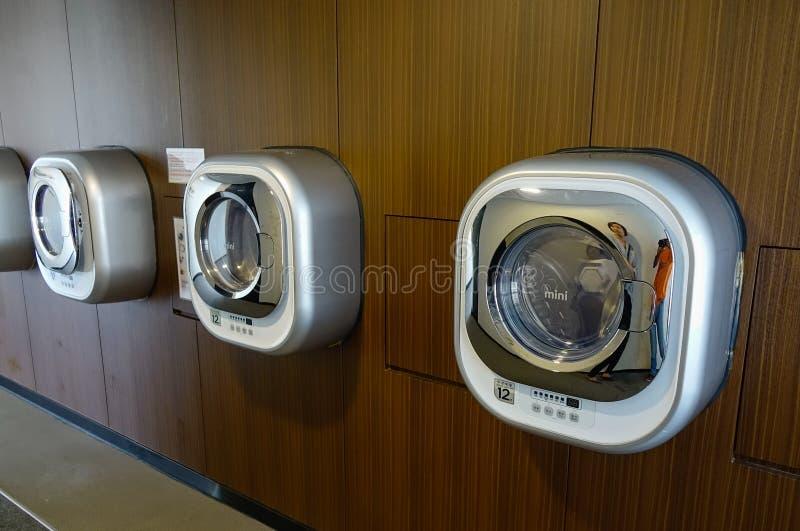 Machines à laver automatiques image libre de droits