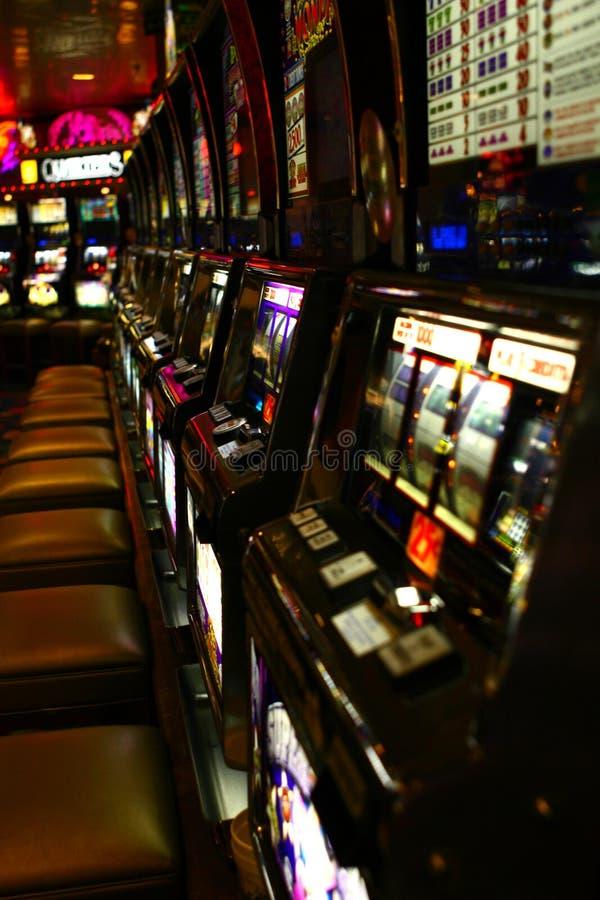 Machines à sous de casino images stock