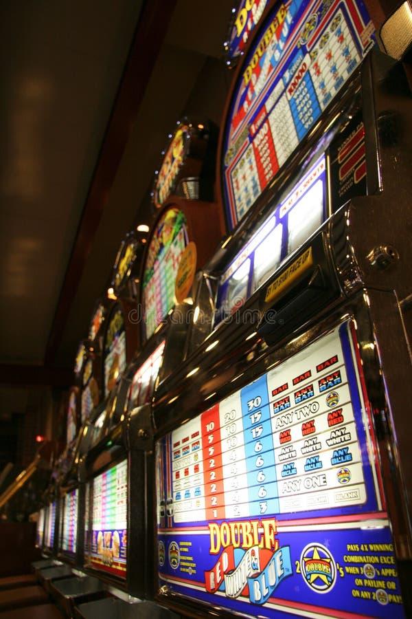Machines à sous de casino photos stock