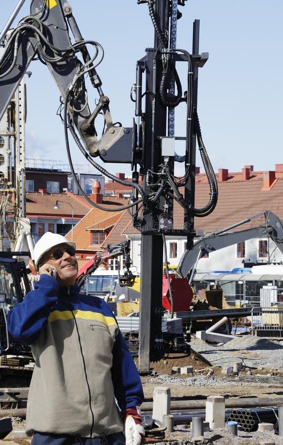 Machines au sol de construction photo libre de droits