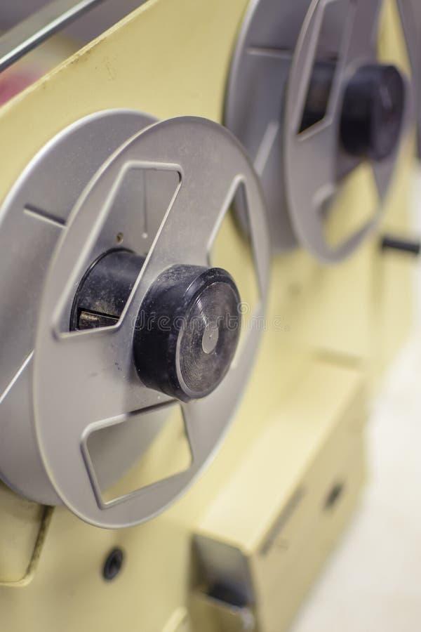 Machines aux films d'écran au cinéma photos libres de droits