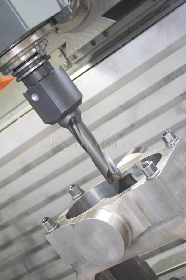 Machining centre stock photography