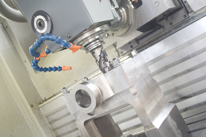 Machining centre royalty free stock images