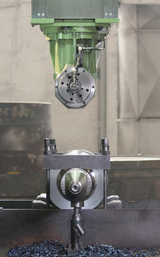 Download Machining Tool Royalty Free Stock Photography - Image: 18610537
