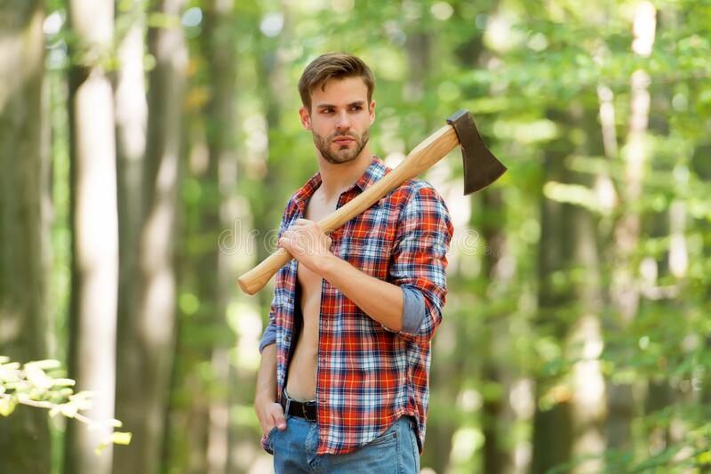 Sexy Woodcutter