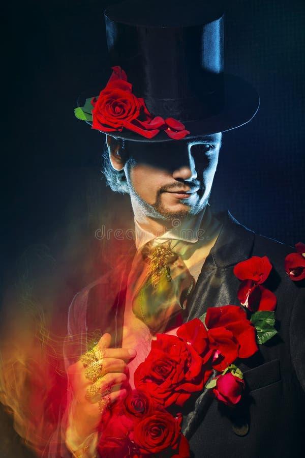 Macho de magicien photo libre de droits