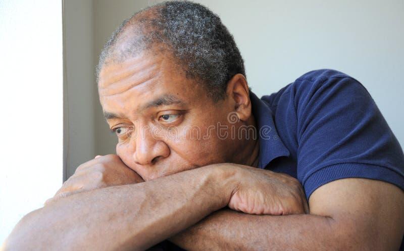 Macho do americano africano. fotos de stock