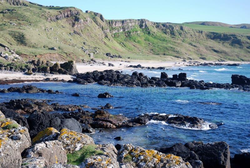 Machrihanish niewygładzony Wybrzeże. fotografia royalty free