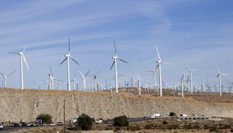 Macht 3 van de wind stock foto