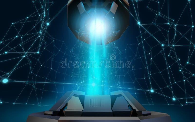 Download Macht stock illustratie. Illustratie bestaande uit achtergrond - 54082155