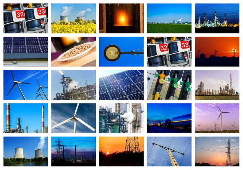Macht en energieconcepten royalty-vrije stock foto's