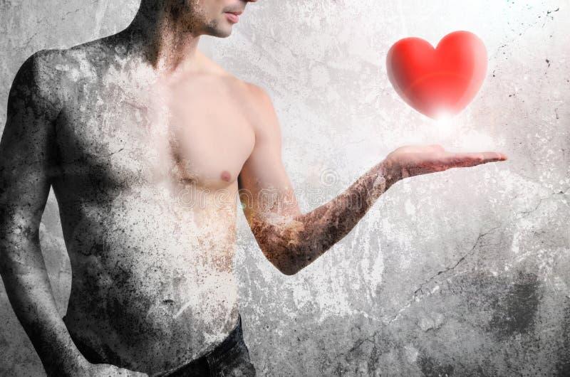 Macht van liefde royalty-vrije stock afbeelding