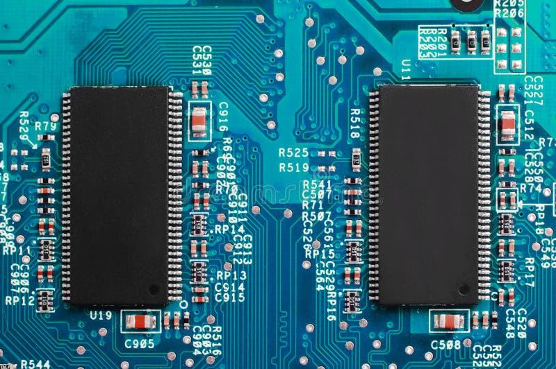 Macht Van Technologie Stock Afbeelding