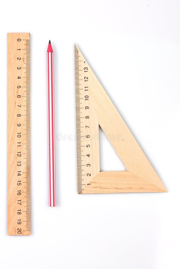 Machthaber, Bleistift und Radiergummi Zeichnender Satz Zeichnung stockfotos
