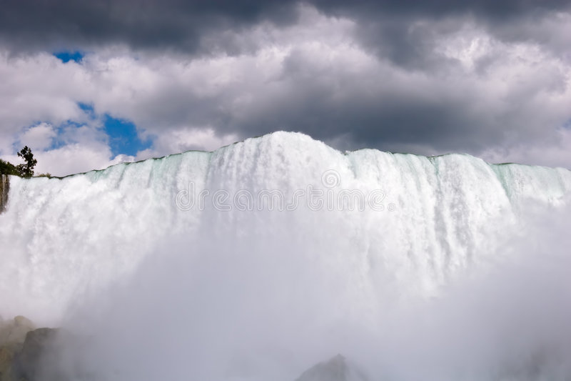 Machtige Niagara royalty-vrije stock foto