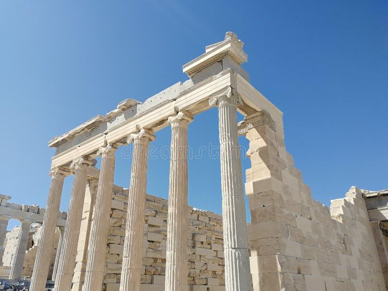 Machtige Parthenon stock foto