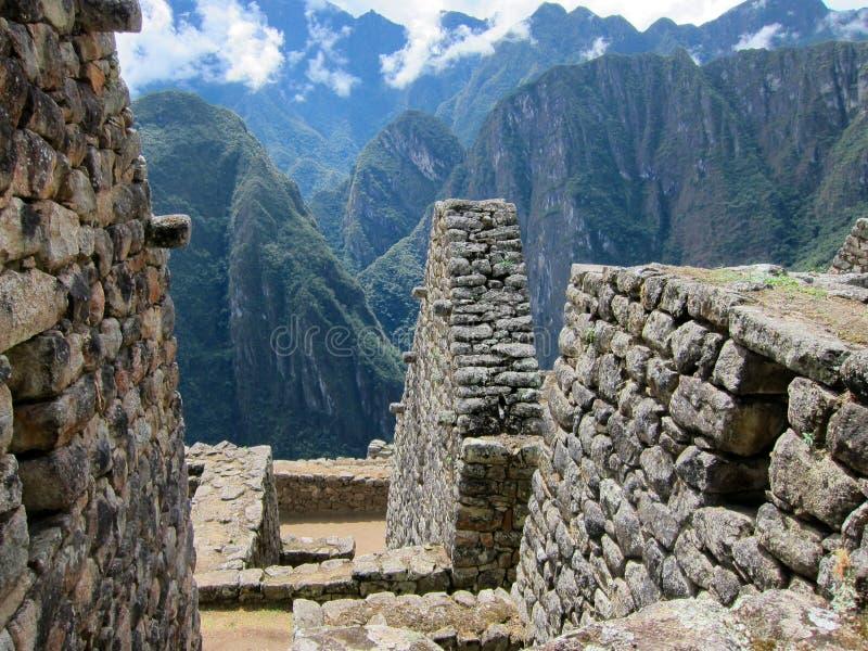 machu秘鲁picchu 免版税库存照片