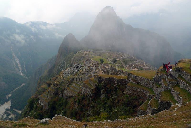 Download Machu Mystical Picchu imagem de stock. Imagem de cidade - 16856399
