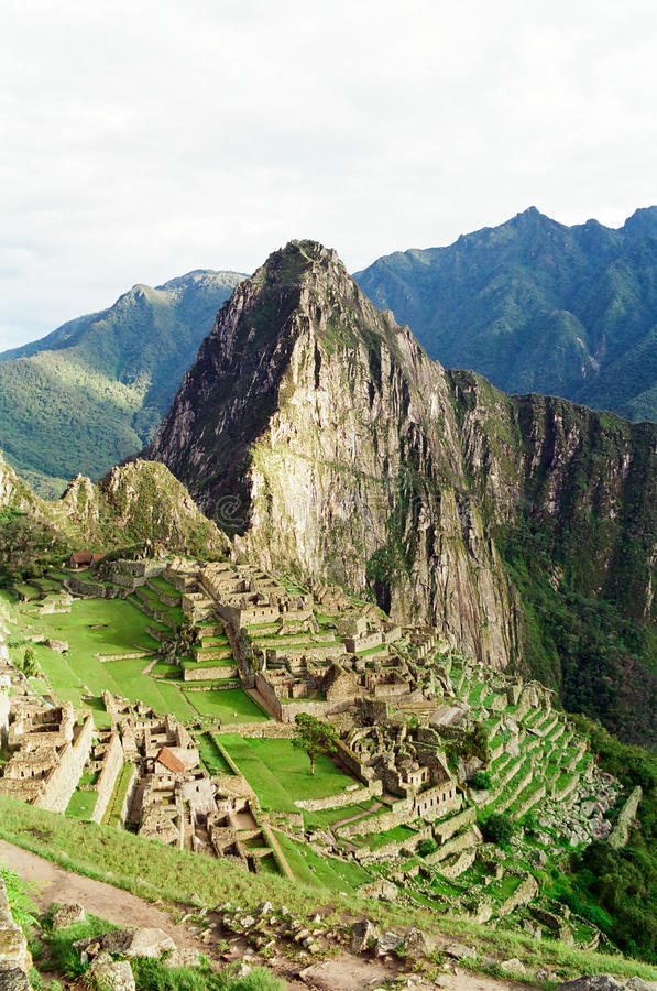 machu Peru picchu obraz stock