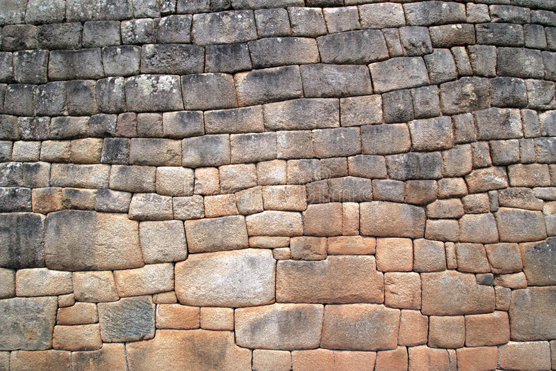 machu picchu ściany zdjęcie royalty free