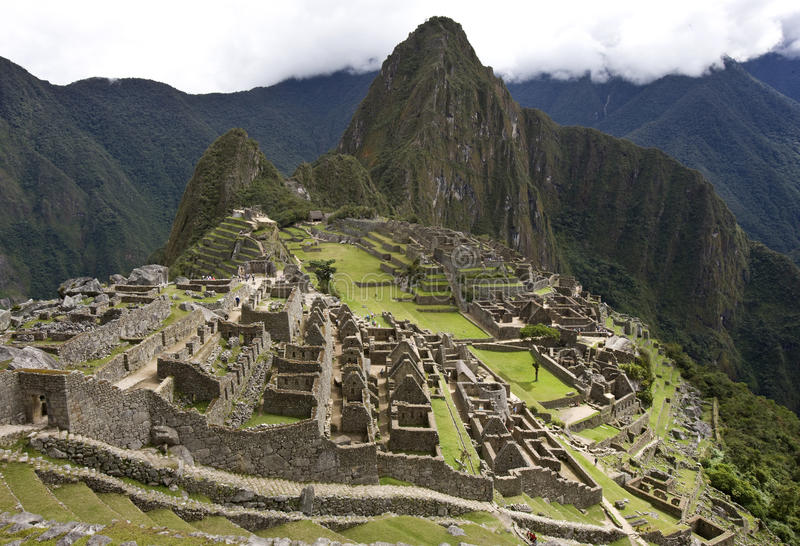 Machu Picchu - Περού στοκ εικόνες με δικαίωμα ελεύθερης χρήσης