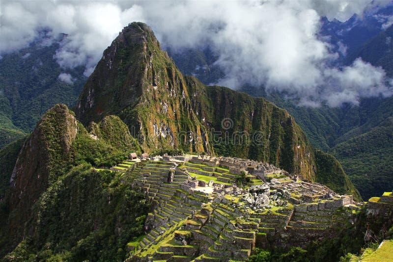 Machu Picchu στο Περού στοκ εικόνα