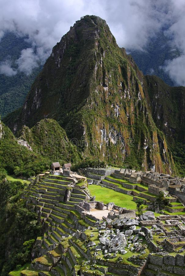 Machu Picchu в Перу стоковые изображения