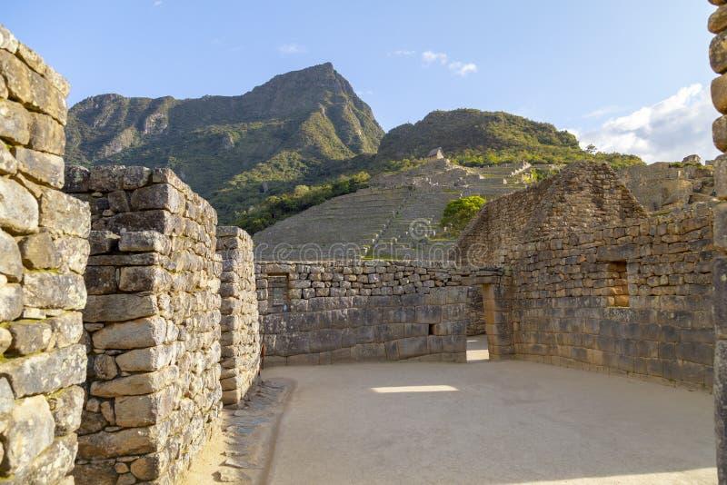 Machu Picchu- 20-ое декабря 2018, Machu Picchu в Перу один из новых 7 интересов мира стоковое фото rf