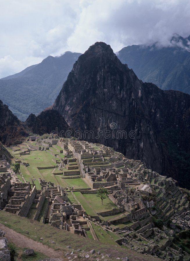Machu Picchu 1 royalty free stock image