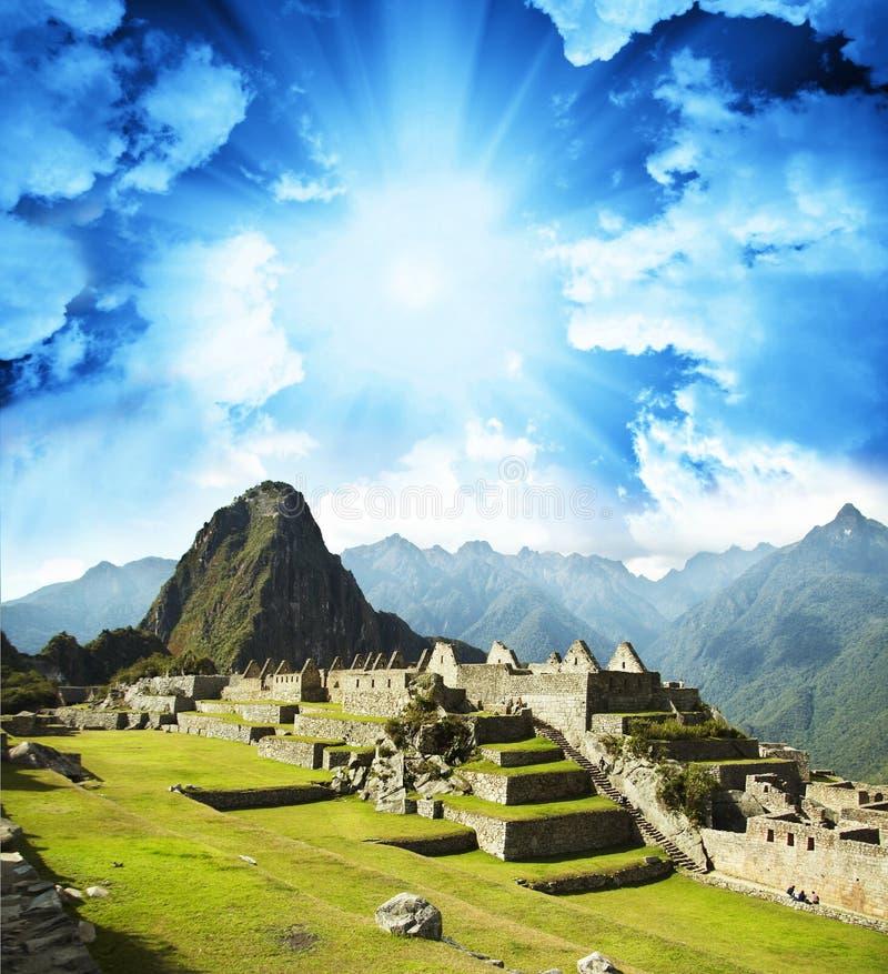 Machu-Picchu fotografía de archivo