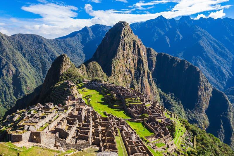 Machu Picchu 库存照片