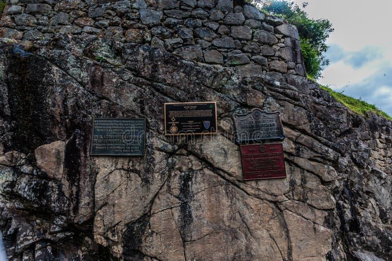 Machu Picchu стоковая фотография rf