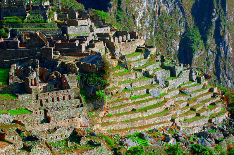 Machu Picchu 2 stockbilder