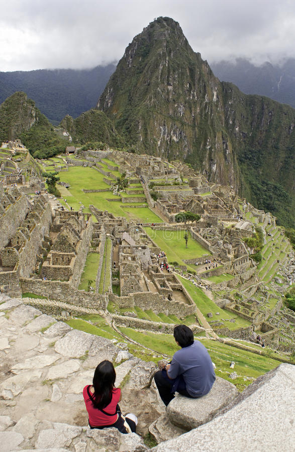 Download Machu Picchu stock image. Image of gate, famous, calientes - 21314101