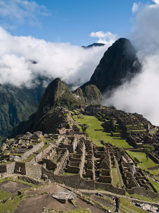 Download Machu Picchu stock photo. Image of machu, mountain, archaeological - 3393454