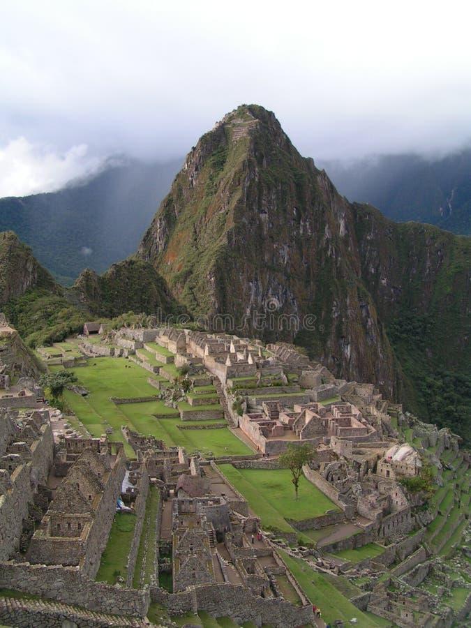 Download Machu Picchu stockbild. Bild von tourist, amerika, historisch - 37693