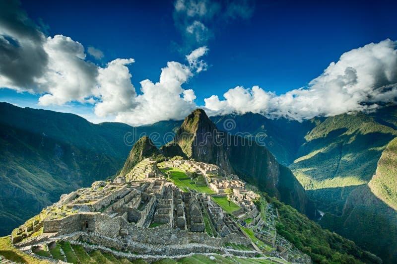 Machu Picchu imagens de stock