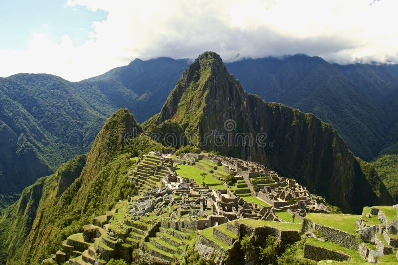Machu Picchu стоковое фото