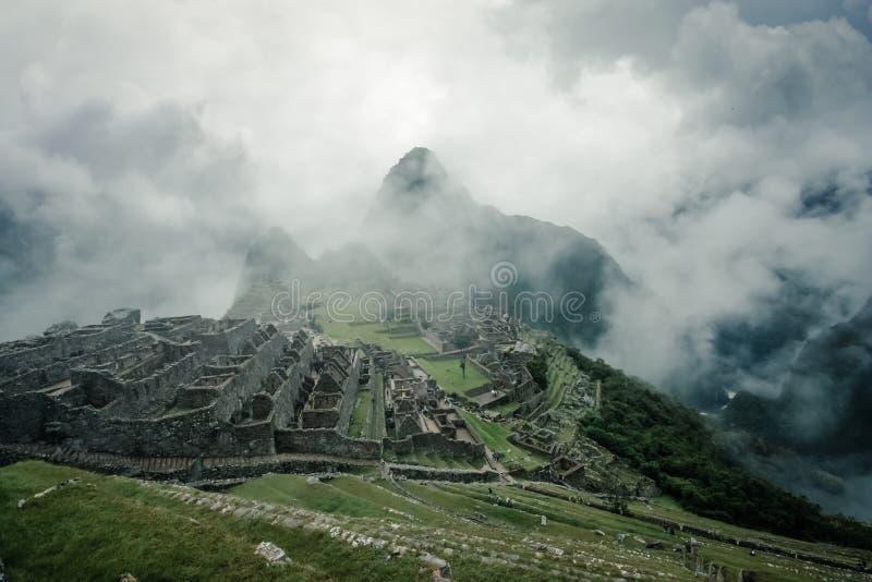Machu Picchu royaltyfri foto