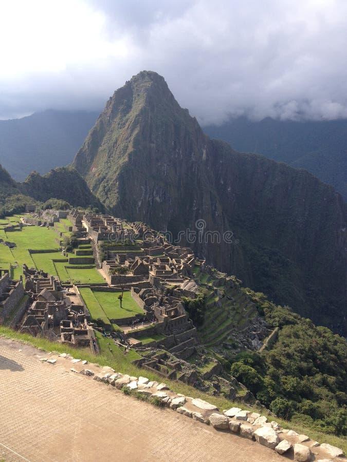 Machu Picchu royaltyfria foton