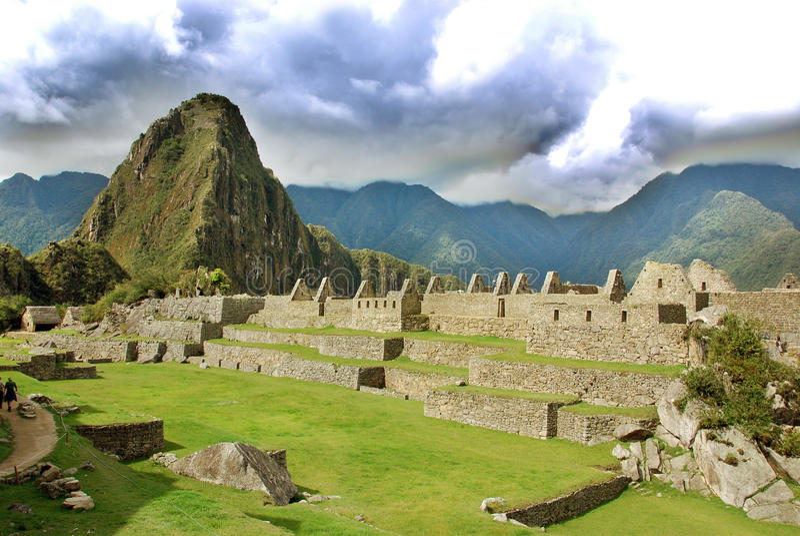 Machu Picchu royalty-vrije stock afbeeldingen