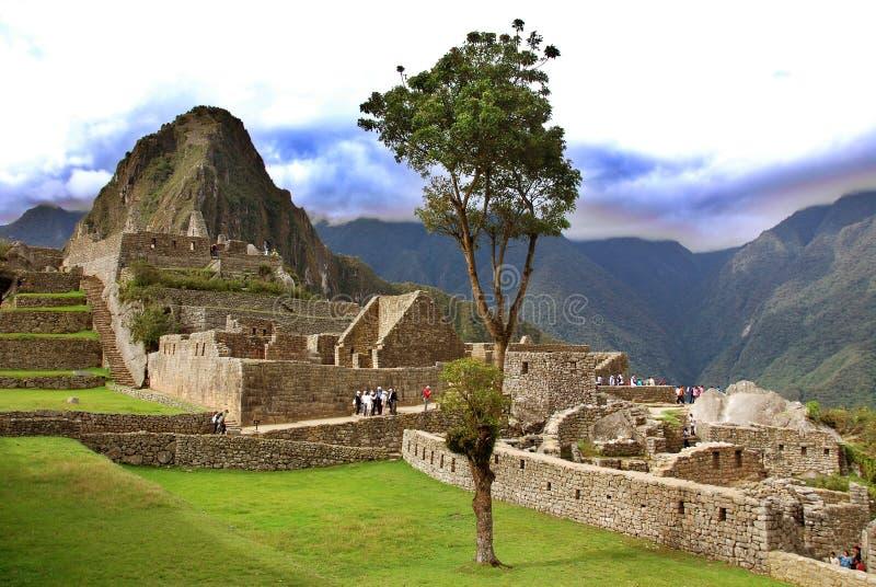 Machu Picchu royalty-vrije stock foto