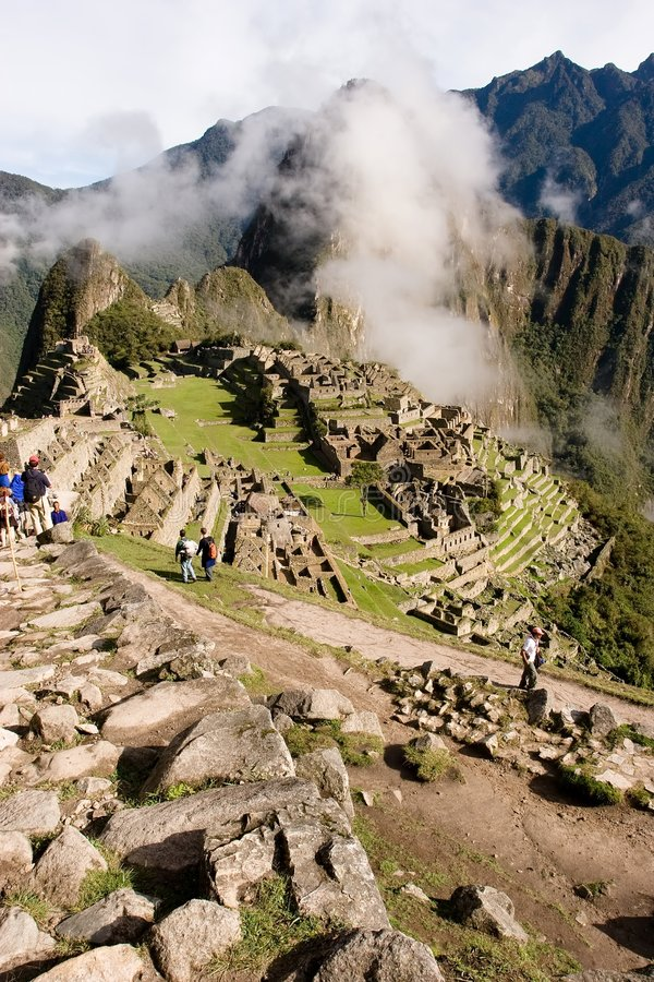 Machu Picchu fotografia de stock royalty free