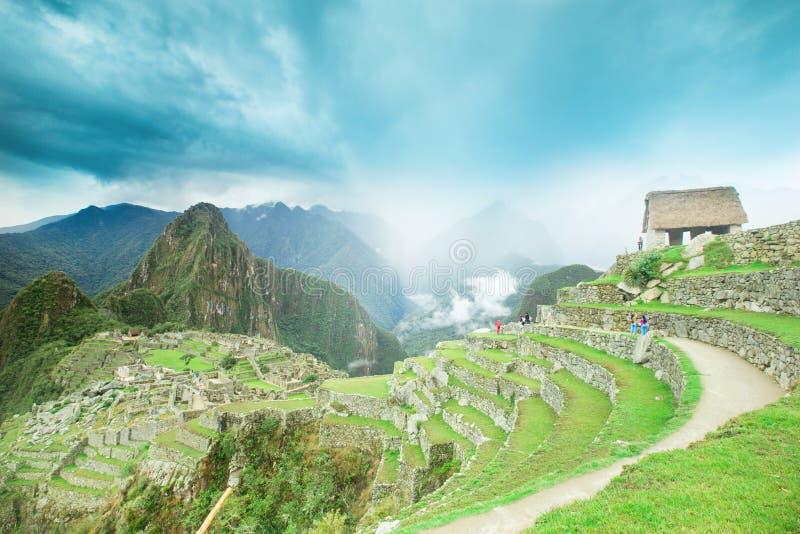 Machu Picchu foto de archivo libre de regalías