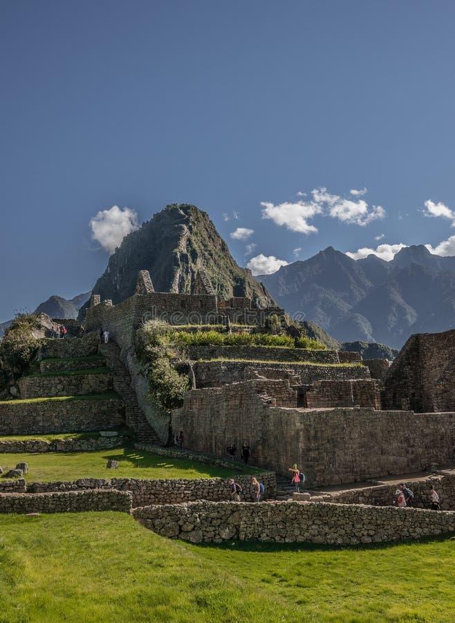 Machu Picchu arkivfoton