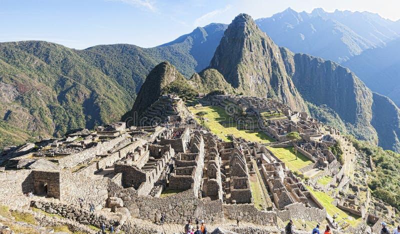 Machu Picchu arkivfoto