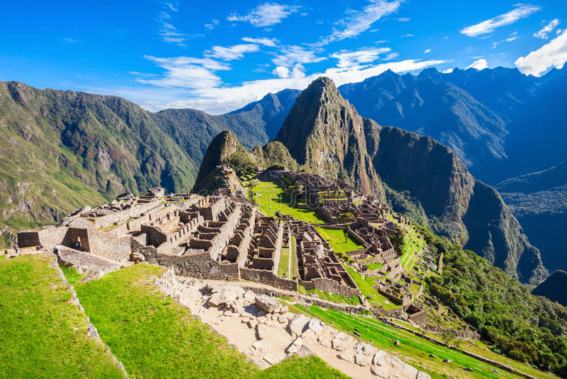 Machu Picchu images stock