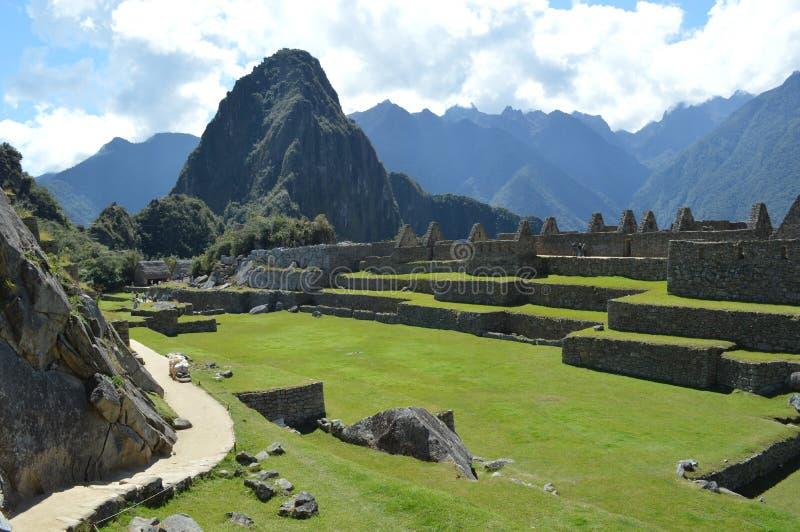 Machu Picchu стоковое фото rf
