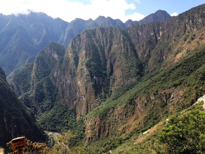 Machu Picchu royaltyfri fotografi