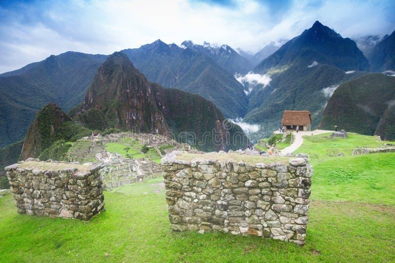 Machu Picchu fotos de archivo